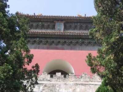 十三陵被李自成烧了 曾被李自成当作是皇宫