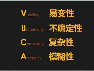 "vuca时代的5个能力 总看到""VUCA时代""这个概念"