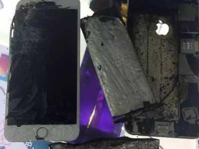 苹果6爆炸图片 iPhone 6Plus接连爆炸